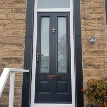 Traditional door install