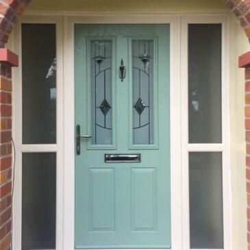 Green door install