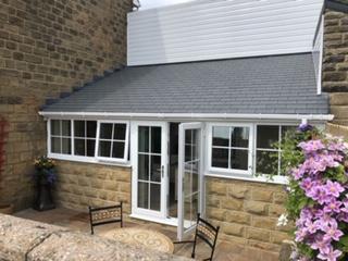 Stone conservatory
