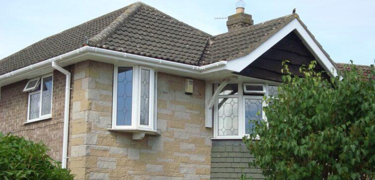 Freshly installed roofline