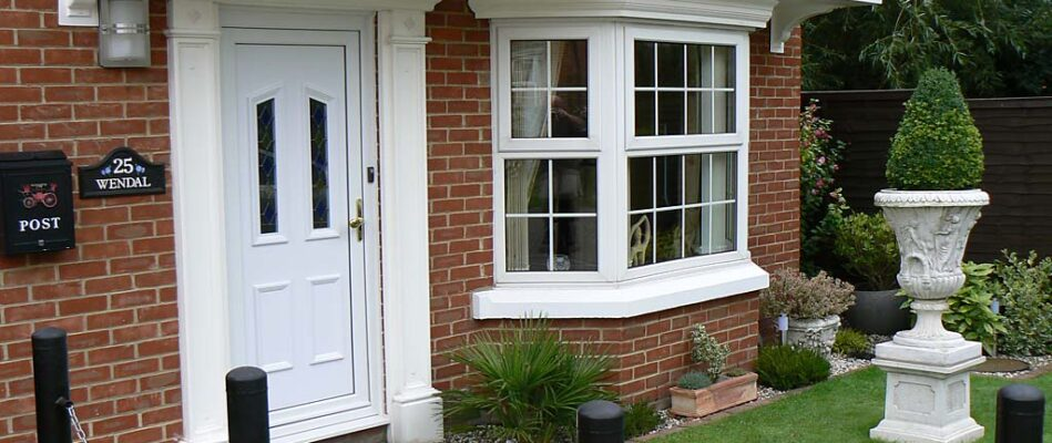 Newly installed bay window